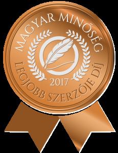 Magyar Minőség legjobb szerzője logó