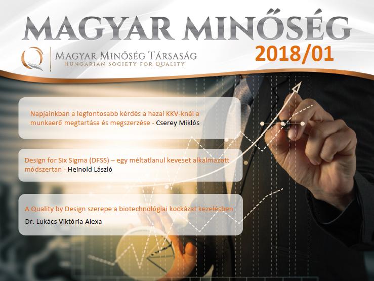 Megjelent a Magyar Minőség 2018. januári száma, címlap.