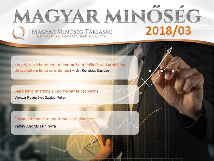 Magyar Minőség 2018- márciusi száma címlap
