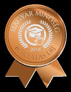 Magyar Minőség eOktatás Díj 2018 logo