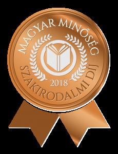 Magyar Minőség szakirodalmi díj 2018 logó