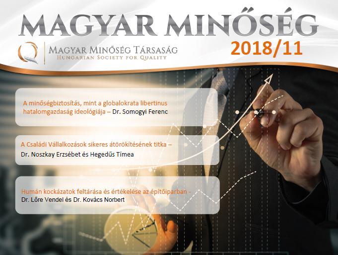 Magyar Minőség 2018. novemberi címlap