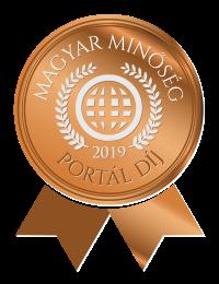 Magyar Minőség Portál díj 2019
